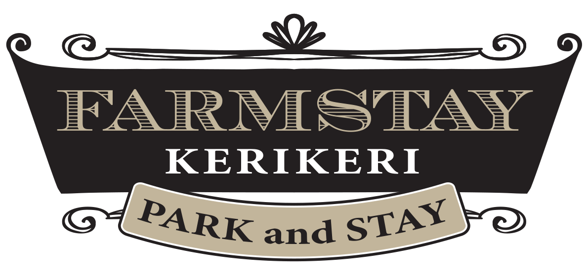 Logo design for Farmstay Kerikeri