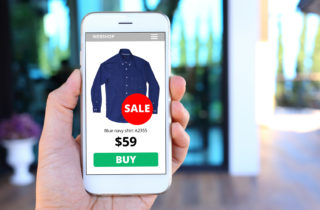 Ordering online from woocommerce shop