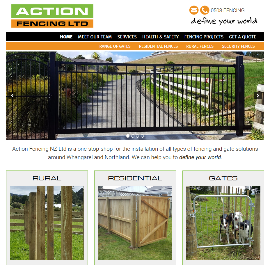 Fencing Website