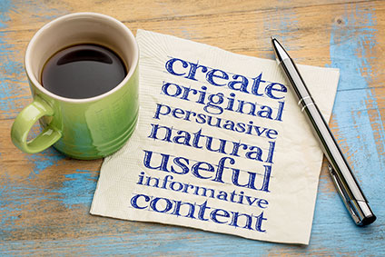 We write website content and blogs