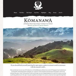 Komanawa Website