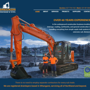 Drainlaying Website