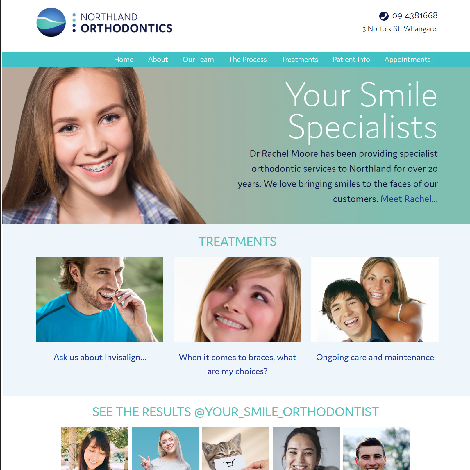 Orthodontist Website